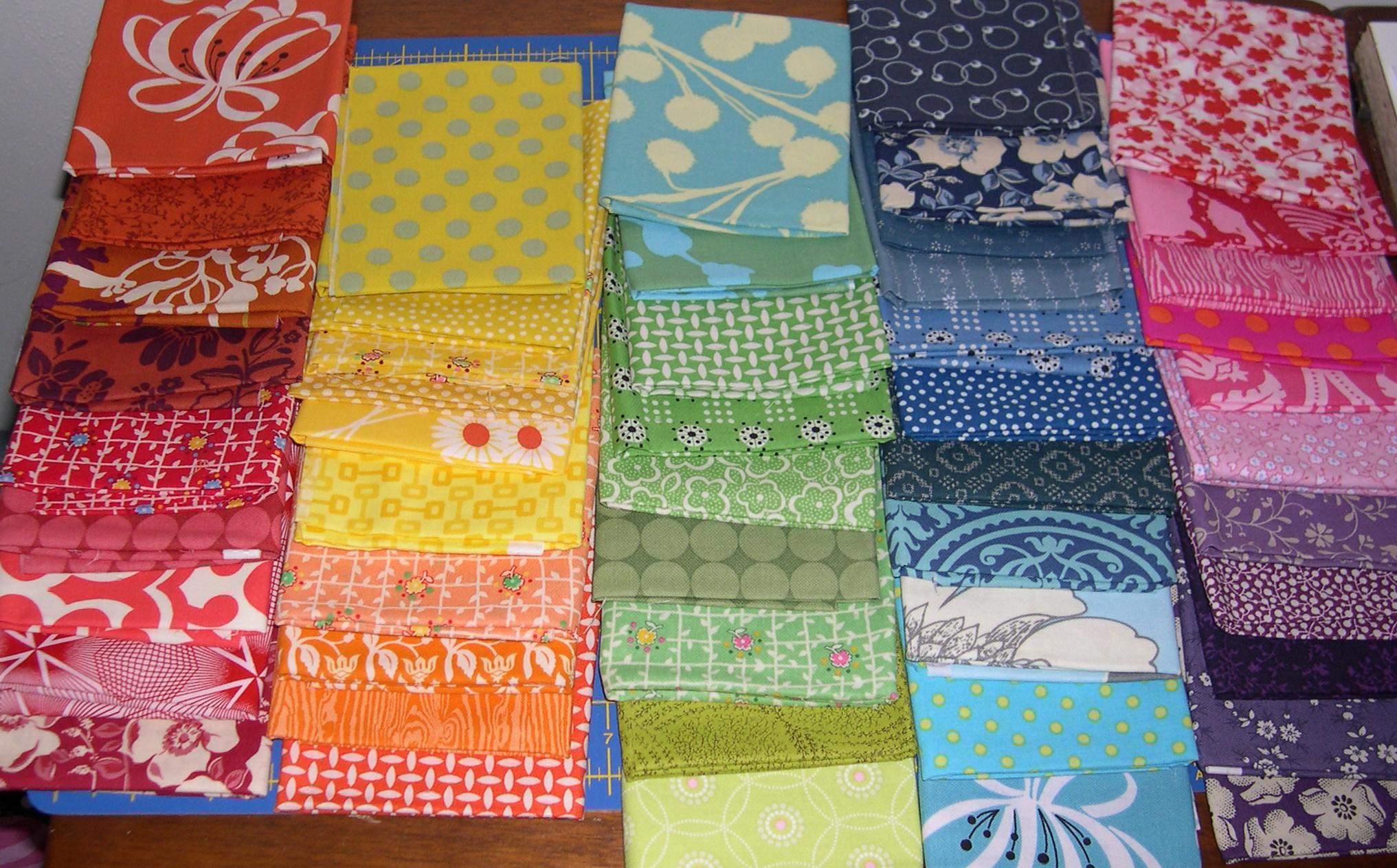 color wheel fabrics