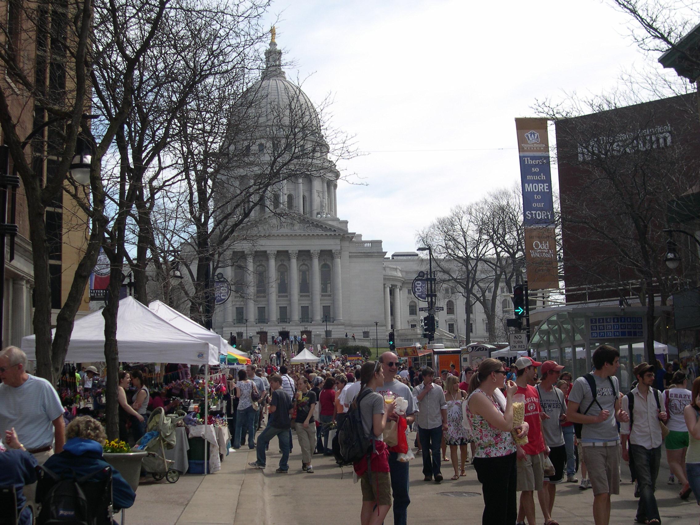 The market around the Square
