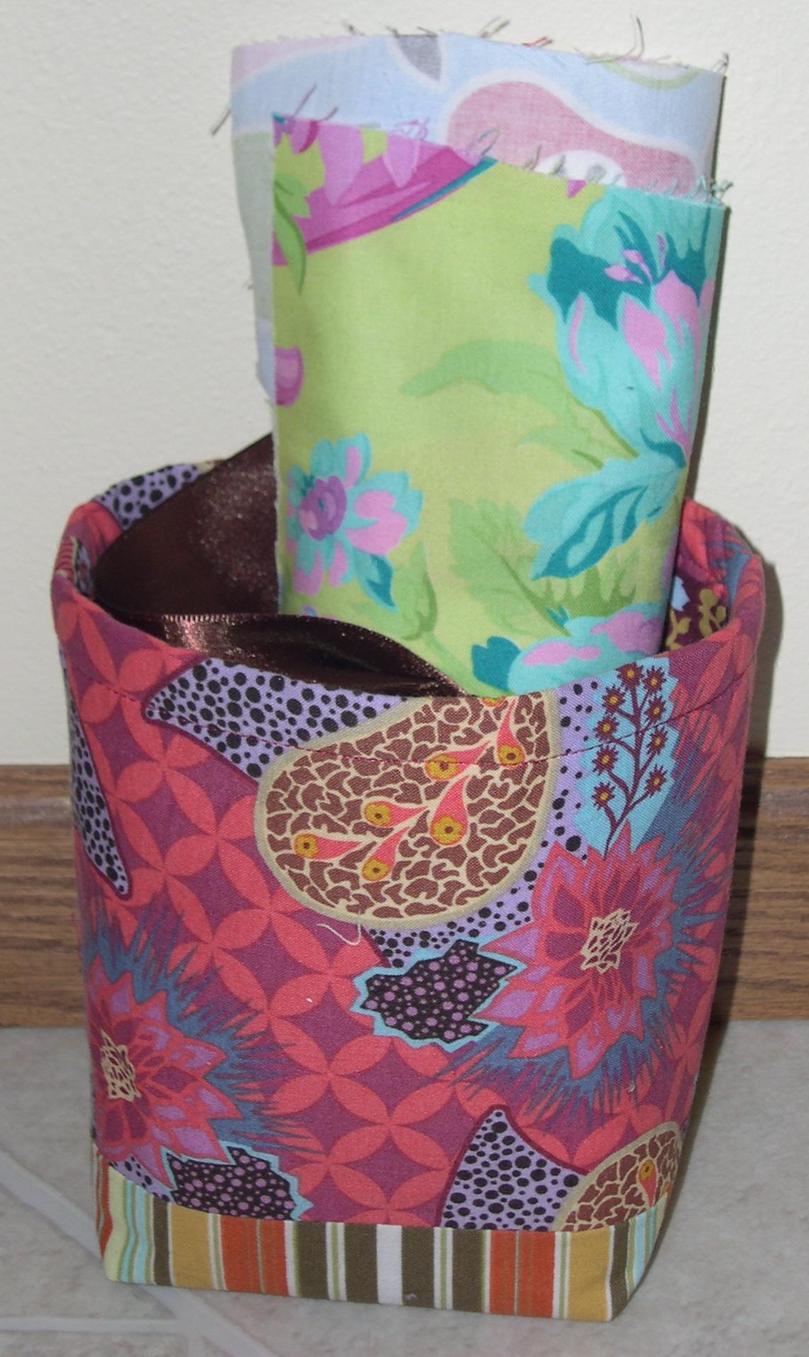 patchwork basket