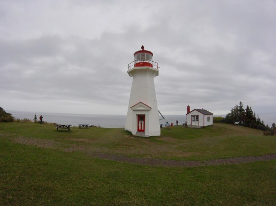 Le phare du Parc National Forillon