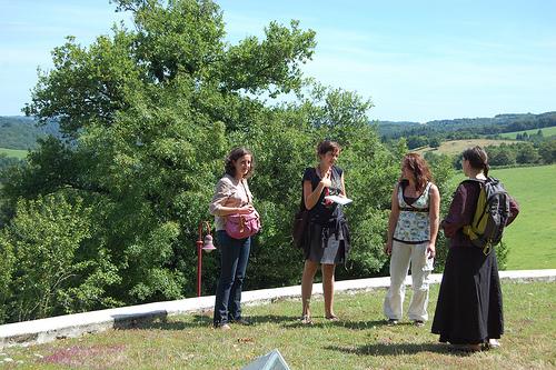 Marie Coirié, Fanny Herbert, Hélène Berger et Adélaïde Schindler