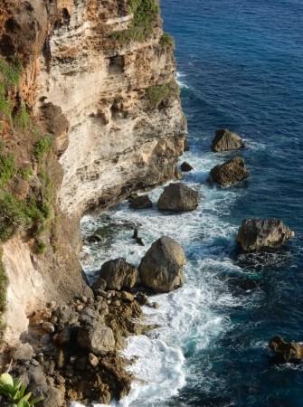 The cliffs of Uluwatu