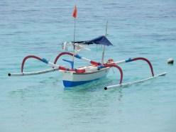 Indonesian canoe