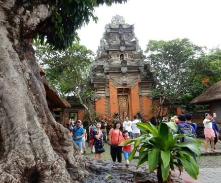 Royal palace in Ubud