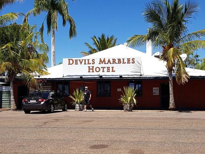 Devils Marbles Hotel