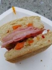 Muffalette sandwich