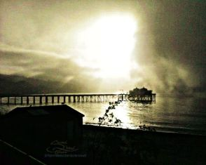 Foggy-Sunrise-at-Malibu-Pier