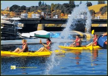 Blind kayaking
