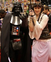 Vader & Steampunk Leia C2E2