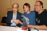 Harou Nakajima with Luke and Dave Fuentes
