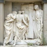 Terror a la muerte. Algunos ejemplos fascinantes de arte funerario. Ejemplos clasicistas (I)