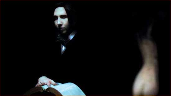 "Marilyn Manson goes down the rabbit hole with ""Phantasmagoria: The Visions of Lewis Carroll"""