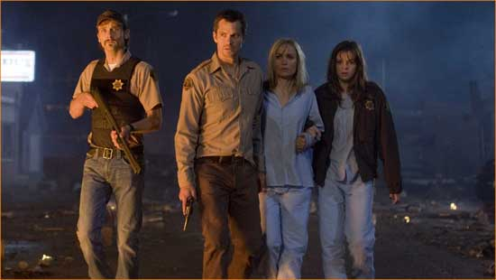 "Timothy Olyphant leads a group of survivors through a more nightmarish-than-usual Iowa in ""The Crazies""."