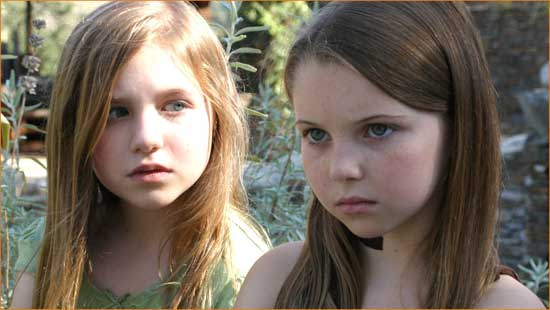 """Rachel (Mia Ford) realizes evil may lurk in small shoes in """"Within""""."""