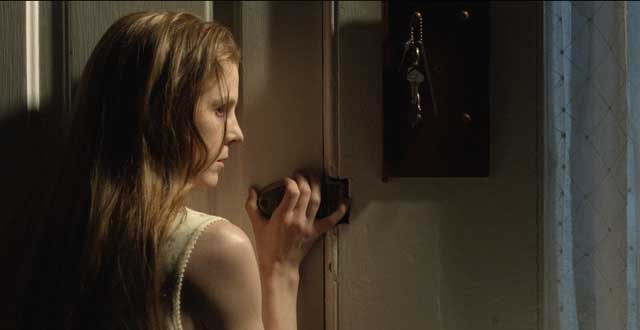 "Nell (Ashley Bell) tries to keep the evil at bay in ""The Last Exorcism: Part 2""."