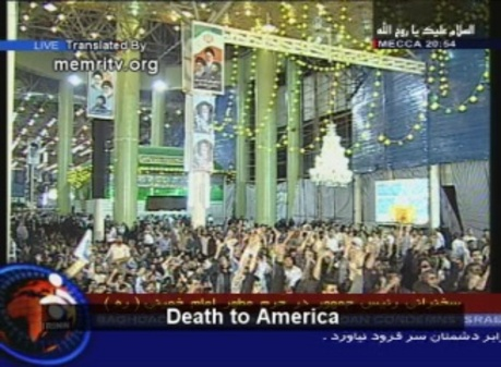 """Iran has so much """"respect"""" for us that they even have a national holiday called """"Death to America"""" Day!"""