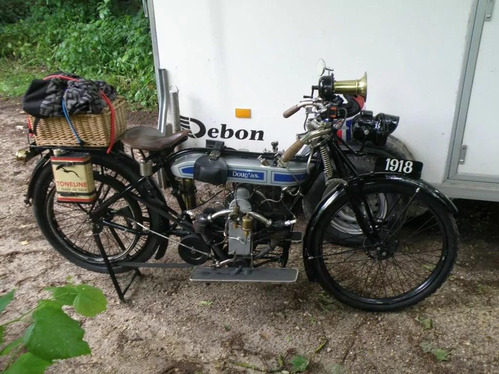 Douglas Type L 350cc 1918