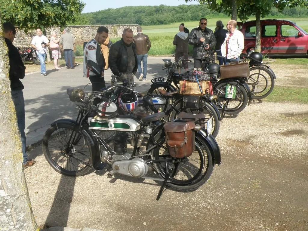 vue d'ensemble des motos a courroie