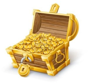 12413777-vector-illustration-of-treasure-chest-on-white-background