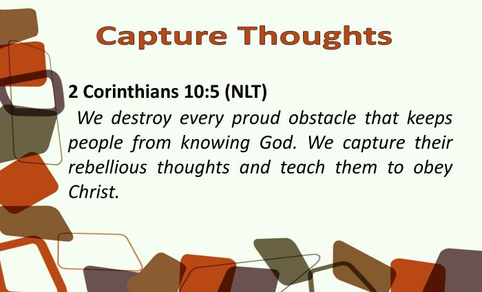BVD- Capture Thoughts