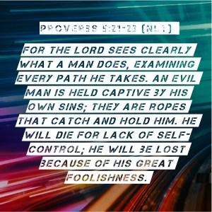 God sees (Instagram)