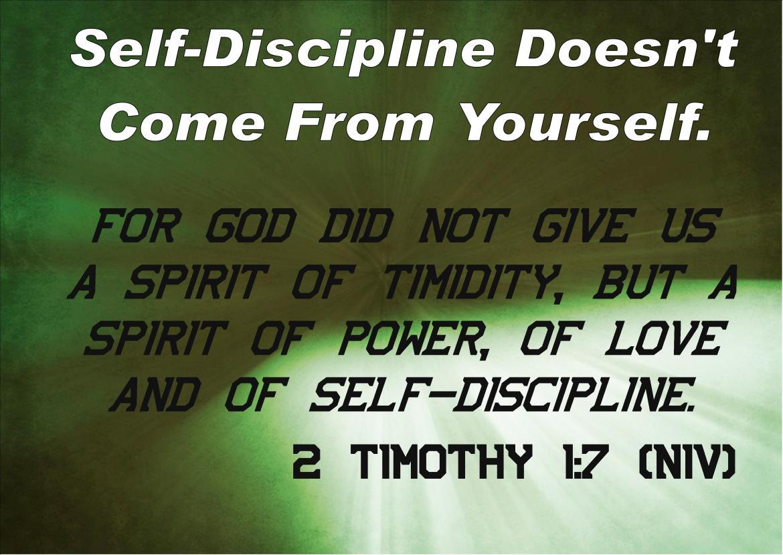 Self-Discipline