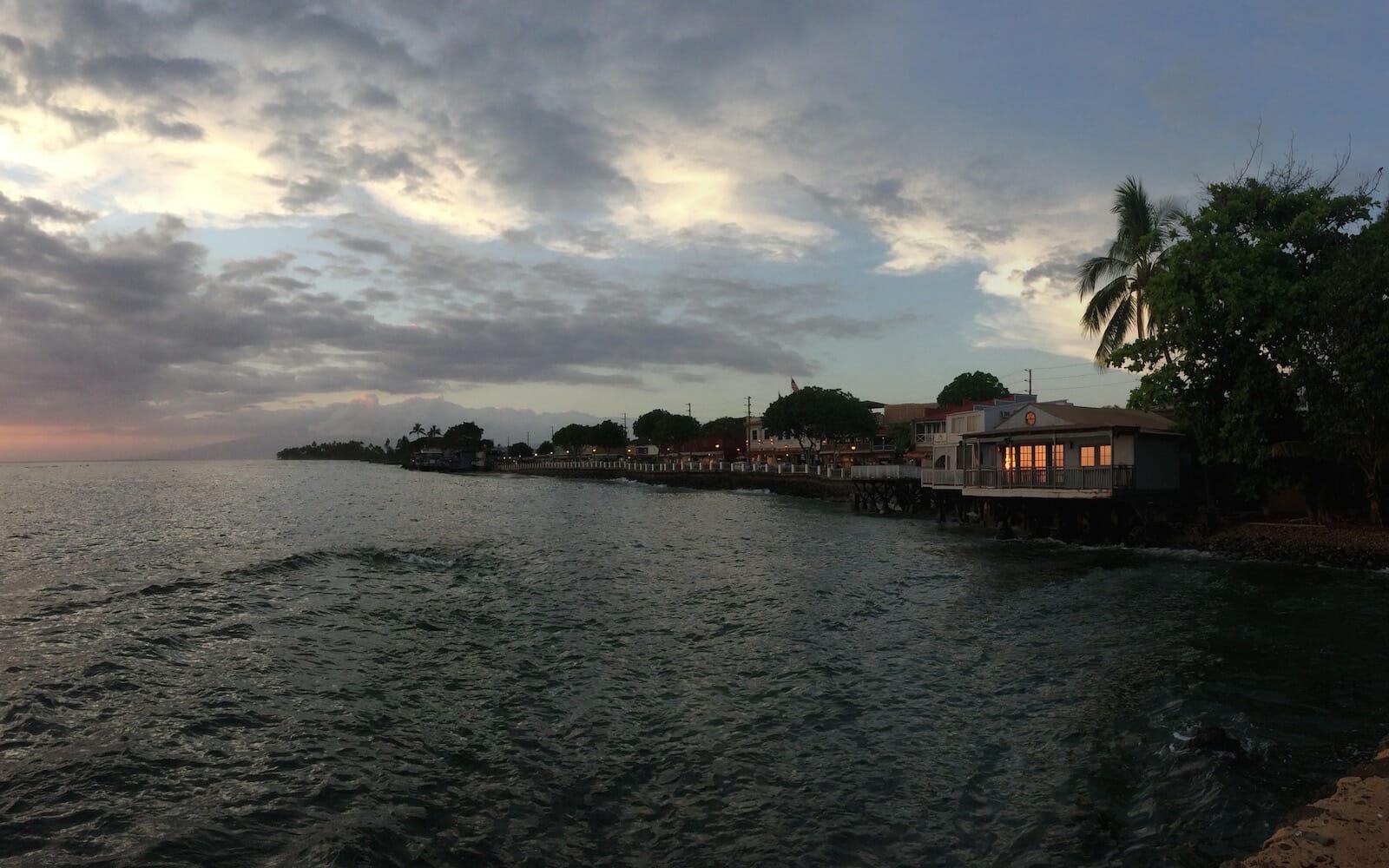 Lahaina Sunset website