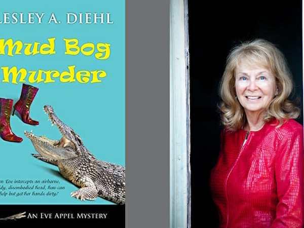 Behind the story of Mud Bog Murder with Lesley A. Diehl