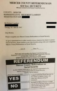 Social Security benefits scam