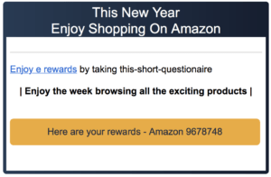 Amazon email scams