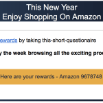 Amazon email scams — off to a big 2017