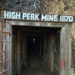 Entrance to the High Peak Mine