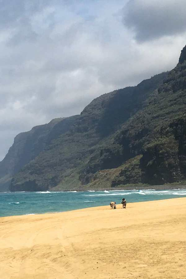 Friday Fotos — a beautiful day at Polihale Beach