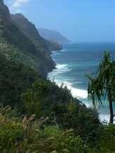 Hikers dream - view along the Na Pali Coast