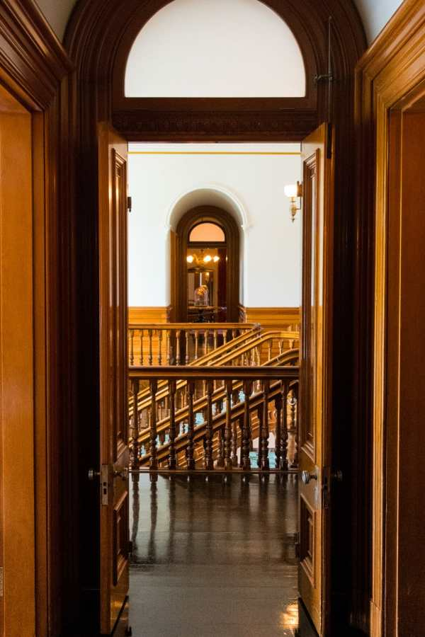 Friday Fotos — another view inside Iolani Palace