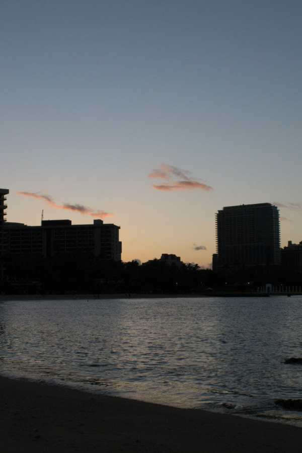 Friday Fotos — Sunrise at Waikiki is a stunning way to start the day