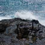 Friday Fotos — wave action but no blowhole at Halona