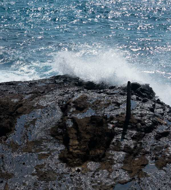 Friday Fotos — wave action but no blowhole at Halona