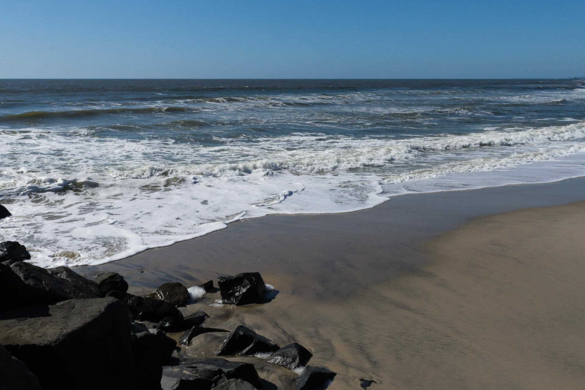 A gorgeous day down by the shore in Carlsbad