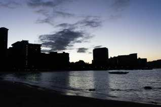 Waikīkī at dawn