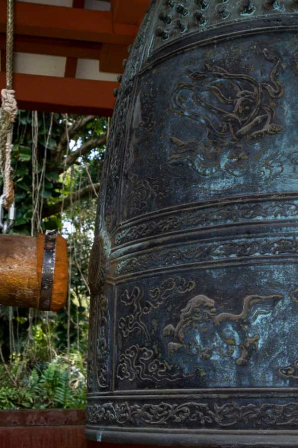 Friday Fotos – Melodic tones from the Byodo-In Temple Sacred Bell