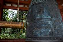 Massive gong at Byodo-In Temple