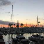 Friday Fotos – sunset at the harbor in Honolulu