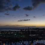 Friday Fotos – Blue hour Oahu sunset at the harbor