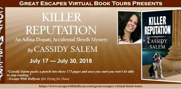 Behind the story of Killer Reputation by Cassidy Salem