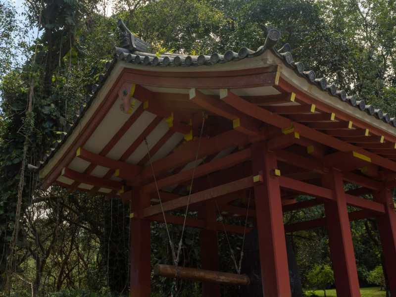 Byodo-In Temple bell pagoda