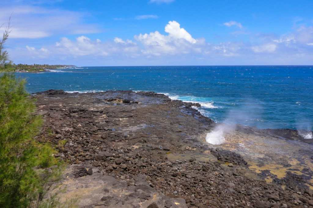 Spouting Horn on Kauai