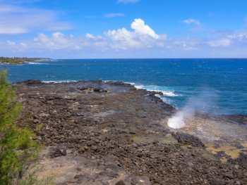 Spouting Horn on Kauai
