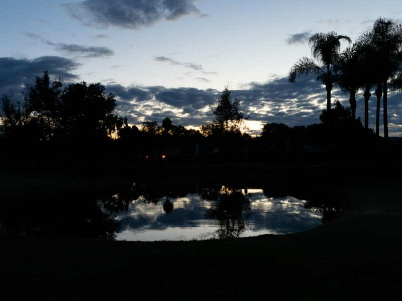 Sunrise at Shadowridge Golf Course