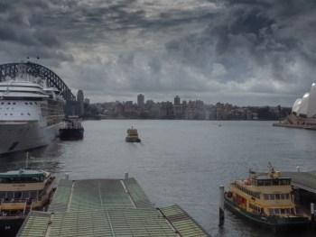 Sydney Harbor with Opera House